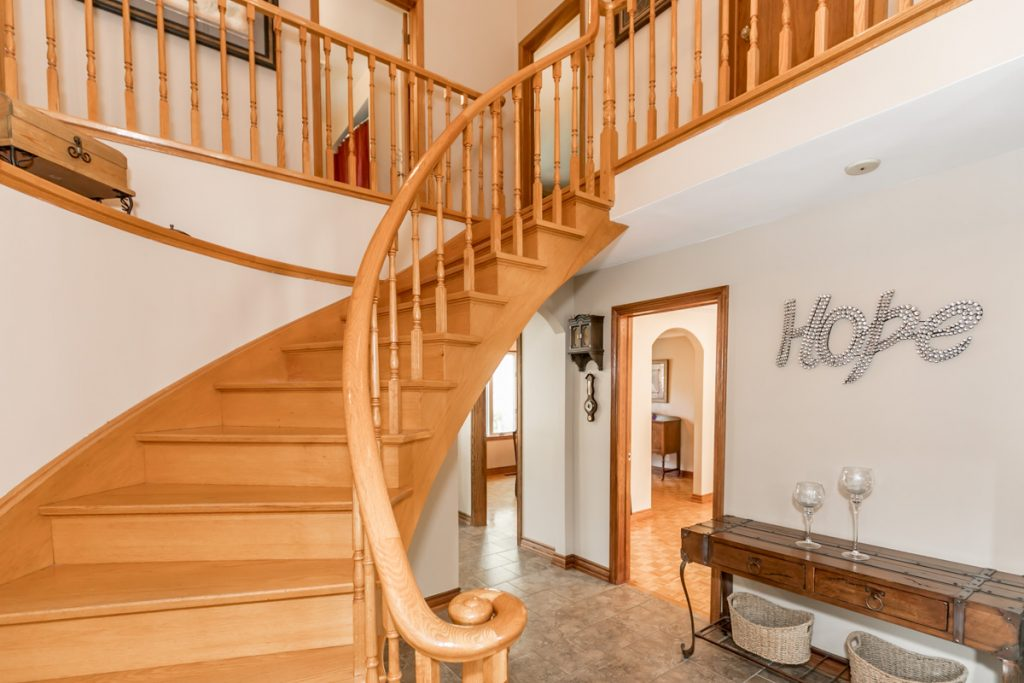 Stairway in Angus Home
