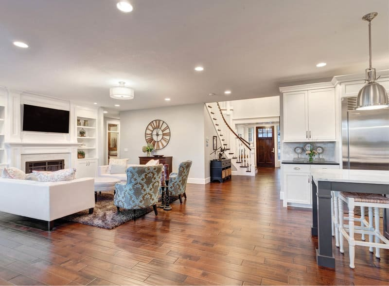 Features inside a Beeton Village home.
